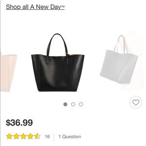 a34c3ea2cf a new day Bags - NWOT Target reversible faux leather tote